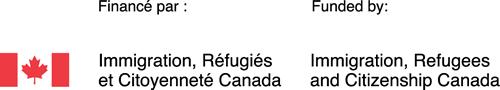 Le logo pour Immigration, Réfugiés et Citoyenneté Canada